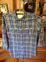 American Eagle long sleeve plaid shirt - 2 in Naperville, Illinois
