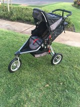 Running Stroller BOB in Schofield Barracks, Hawaii