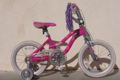 Barbie Bicycle with Training Wheels in 29 Palms, California