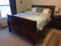 Solid Wood Sleigh Bed - Queen in Fort Carson, Colorado