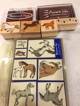 Horse Rubber Stamp Collection in Batavia, Illinois