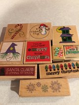 Christmas, Winter and Halloween Rubber Stamps in Joliet, Illinois