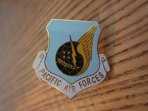 Pacific Air Forces Trading Pin in Alamogordo, New Mexico