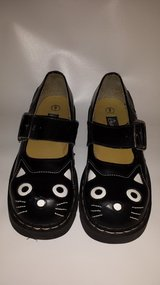 ANARCHIC Womens Mary Jane Kitty Cat Black Leather Shoes Size 9 in Miramar, California