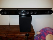Sony HTST7 HD Sound Bar with Wireless Subwoofer in Fort Rucker, Alabama