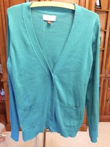 Teal Cardigan Sweater by Sonoma XL in Naperville, Illinois
