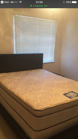 Queen Bed (headboard,mattress and box spring included) in Las Vegas, Nevada