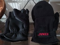 NEOPRENE & FLEECE MITTENS TO FINGERLESS GLOVES in Lakenheath, UK