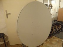Large 4ft Satellite Dish in Ramstein, Germany