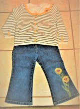 3T Little Girl Gymboree Pants and Sweater (Like New) in Beaufort, South Carolina