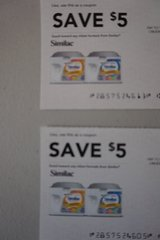 Similac Coupons x 2 in Aurora, Illinois