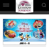 Disney on Ice Jan 7th in Barstow, California