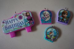 Disney Frozen Birthday Candles in Chicago, Illinois