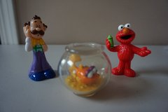 Elmo/Dorothy Cake Toppers and Elmo Cupcake Rings in Chicago, Illinois