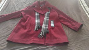 Wool blend coat NWT in Naperville, Illinois