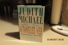 """A Tangled Web"" By Judith Michael - Sequel To ""Deceptions"" in Houston, Texas"