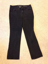 Black Sonoma Fit Mid Rise Straight Jeans - 12 in Bolingbrook, Illinois