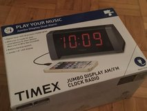 Timex Jumbo Display Clock Radio - Connects to smartphones, MP3s, Ect. - 120V in Ramstein, Germany