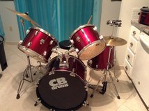 CB drum kit in Eglin AFB, Florida