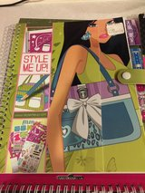 4 Style Me Up and Fashion Angels Stencil Books in Oswego, Illinois