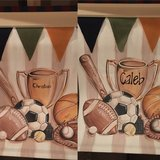 """Hand painted canvas wall art """"Caleb"""" or """"Christian"""" in Aurora, Illinois"""