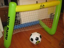 Inflatable Soccer Net and Ball in Morris, Illinois