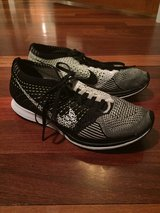 Men's Nike Flyknit Racer Shoes 7.5 in Naperville, Illinois