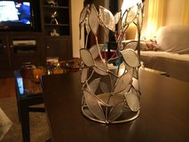 Capiz & Metal Candleholder in Aurora, Illinois