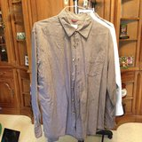 Brown & White Long Sleeve Shirt by Dockers - L in Naperville, Illinois