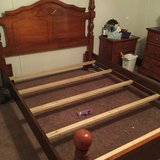 Queen Size headboard, frame and footboard in Baytown, Texas