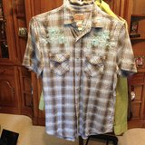 Plaid Short sleeve shirt by Vintage Red - M in Naperville, Illinois
