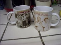 Three Stooges coffee mugs X2 in Vacaville, California