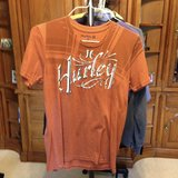 Orange short sleeve shirt by Hurley - M in Naperville, Illinois