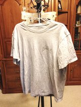Grey short sleeve shirt by Eddie Bauer - L in Naperville, Illinois