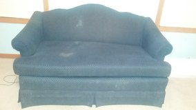 Blue Couch and Loveseat in DeKalb, Illinois
