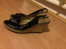 Black Patton Leather Wedges in Ramstein, Germany