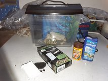aquarium / fish tank , filter, food, Biotopol, rock and waterplant in Baumholder, GE