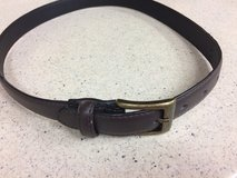 """Leather Belt. (26""""~32"""")/Youth in Okinawa, Japan"""