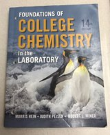 Foundations of college chemistry laboratory book in Fort Irwin, California
