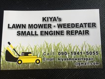 Lawn equipment repair (small engine) in Okinawa, Japan