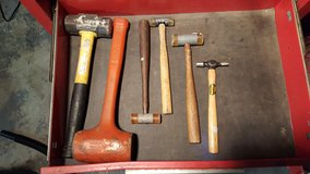Assorted hammers in Fairfield, California