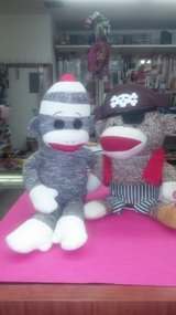 Sock monkeys!!! Fun and collectible in Yucca Valley, California