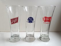 Vintage Beer Pub glasses in Bartlett, Illinois
