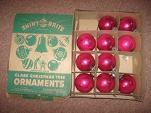 Shiny Brite glass Christmas ornaments in Westmont, Illinois