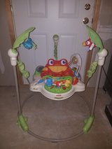 Fisher Price Rainforest Jumperoo Baby Bouncer Entertainer   K6070 by Fisher-Price in Fort Belvoir, Virginia