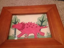 Pottery Barn Picture Frame Dinosaur Themed in Chicago, Illinois