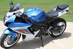 2012 GSXR 600 in Fort Campbell, Kentucky