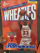 Bulls basketball collectors items, cards, memorabilia and Sports illustrated collection in Glendale Heights, Illinois