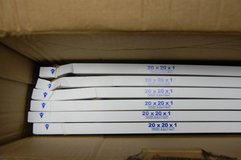 Nordic Pure 20 x 20 x 1 Furnace AC filters. Brand new  6 pack in Lockport, Illinois