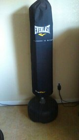 Free standing punching bag in 29 Palms, California